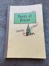 Songs of Praise hymnal-songbook 1970