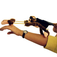 New Funny Flying Monkey Screaming Flying Slingshot Plush Toys Optimal