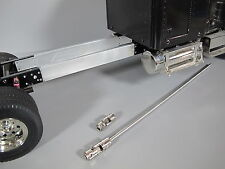 Alumin 6 inch Frame Extension & Steel Drive Shaft Set Tamiya RC 1/14 King Hauler