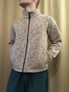 Mammut Iceland Jacket Size M Knitted Wool/Acrilca Made in Romania Zip Sweater