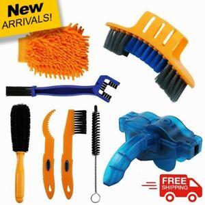 Bicycle Cleaning kit Mountain Bike Wheel Brush Chain Wash Brake Disc Clean Tools