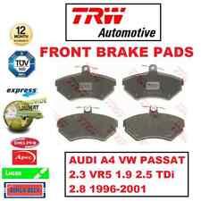 FOR AUDI A4 VW PASSAT 2.3 VR5 1.9 2.5 TDi 2.8 1996-2001 FRONT BRAKE PADS SET
