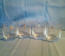 Set of Four (4) Pasabahce Old Fashion Rocks Bar Glasses Made in Turkey