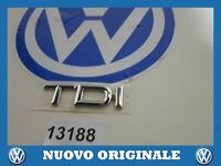Print Logo Emblem Written' Tdi 'New Original AUDI A4 A6 A8 1998 8A0853737A 2ZZ