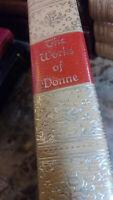 THE WORKS OF JOHN DONNE - Black's Reader Service - RARE, VINTAGE