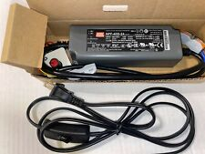Mean Well NPF-40D-24 AC/DC Driver w/dimmer and cord Great for LED Strip LM301B