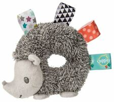 Taggies HEATHER HEDGEHOG RATTLE Baby Rattle Soft Toys Activities BN