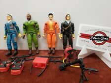 Set of 4 A-Team figures - Cannel 1983