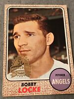 BOBBY LOCKE 1968 Topps 50th Anniversary 2017 Buyback Stamped ANGELS Combineship