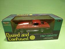 Ertl American Muscle 36685 Chevrolet Corvette 1967 - Dazed Confused 1:18 - Nmib