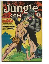 JUNGLE COMICS #128 FN+ GOLDEN AGE 52 PAGES FICTION HOUSE 1950 GOOD GIRL COVER