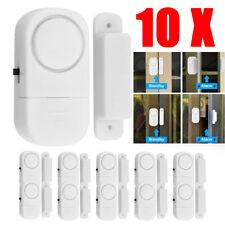 10Pack Wireless Security Burglar Alarm Home Window Door System Magnetic Sensor