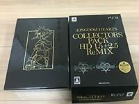 Kingdom Hearts Collectors Pack HD 1.5 2.5 Remix Disney Square Enix PlayStation 3