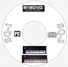 Ensoniq SQ1 SQ2 SQR Sound, Patch Library, Editors & MIDI Software CD  - SQ 1 2