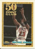 Michael Jordan 50 Point Club Topps 1993/94 - NBA Basketball Card #64