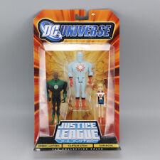 Mattel DC Universe Justice League GREEN LANTERN/ CAPTAIN ATON/ SUPERGIRL Figures