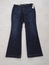 "NUOVO Long & Lean Gap DIST/Bleach Vita Bassa Jeans W 31"" i ""LG 29"" UK 10 a"
