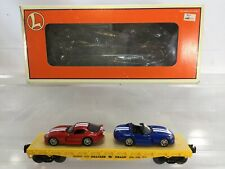 Lionel Trains Flatcar With Dodge Vipers - 6-17527 - MIB