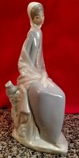 Nao Lladro Fine Porcelain Figurine Girl in the Country Made in Spain