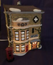 Dept 56 Dickens Village King's Road Post Office 58017 And Mailbox