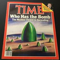 VTG Time Magazine June 3 1985 - Ronald Reagan Tax Reform / Nuclear Threat Spread