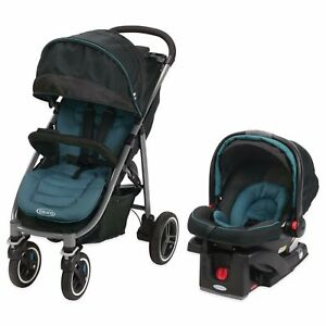 FACTORY NEW Graco Aire4XT Performance Travel System Stroller Car Seat Teal Color