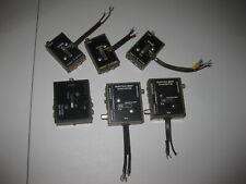 Vintage Atari 2600 Antenna Switch Box RF Adapter Game TV LOT OF 6 DAMAGED
