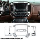Center Console Dashboard Cover Trim For Chevrolet Silveradogmc Sierra 2010-2017