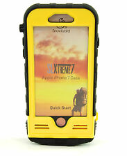 Snow Lizard SLXTREME7 Solar Charge, Waterproof Battery Case for iPhone 7 Yellow