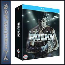 ROCKY - 1 2 3 4 5 & 6 HEAVYWEIGHT COLLECTION *BRAND NEW BLU-RAY BOXSET*