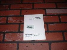NEW OLD STOCK LEYLAND TERRIER TRUCK OPERATORS HANDBOOK. TR650 TR738 TR850 TR950.