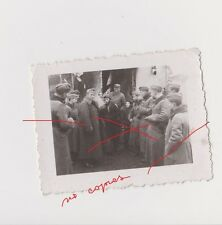 Holocaust Old Poland Photo Original WWII Soldiers mock the Jew from Ghetto