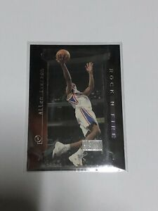 1997-98 Skybox Premium Rock 'N Fire Allen Iverson Basketball Card