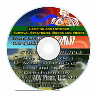Camping and Survival Guides, Wilderness, Worst Case Scenario Doomsday DVD E45