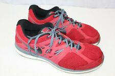 reputable site 1a9dd 2ffe5 NIKE mens sneakers size 12 red black grey dual fushion lite athletic shoes  Wi7