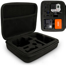 Black Large EVA Travel Hard Zip Case Cover for GoPro Hero5 4 3+ 3 2 1 Action Cam