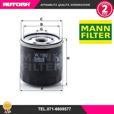 W7032-G Filtro olio Renault-Nissan-Mercedes (MANN)