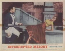 Interrupted Melody 11x14 Lobby Card #5