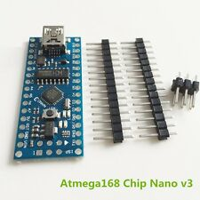 1PCS Nano V3.0 ATmega168 CH340G mini USB compatibile Arduino NANO  NEW