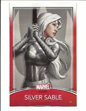 SILVER SABLE Y THE WILD Paquete #36 (CARTA Variante de , Jan 2018 ), NM NUEVO