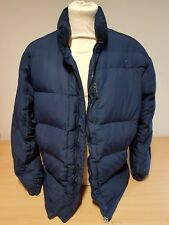 Nike Mens Blue Winter Padded Puffer Coat Jacket Size Medium UK