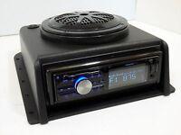 Tractor Truck Heavy Equipment Dash Mount Bluetooth Radio Stereo 28