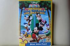 Mickey Mouse Clubhouse - Mickey's Big Splash DVD 1st Class FREE POSTAGE