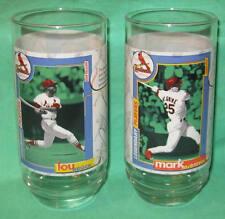 2 Lou Brock Mark McGwire St Louis Cardinals Mlb Glasses 1998 McDonalds Promo New