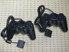 Controladora 2 para PlayStation 2 ps2 gamepad negro nuevo