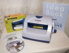 XYRON 510 Sticker Laminator Label & Magnet Maker New Cartridge Inspiration Video