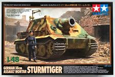 TAMIYA 32591 tedesco 38 cm ASSALTO Mortaio STURMTIGER 1/48 Kit Modello Nuovo Con Scatola
