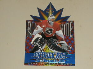 1997-98 Pacific 1998 All Star Game Die Cut #7 Patrick Roy