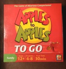 Mattel Apples To Apples To Go Family Card Game Travel Pack