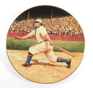 1993 DELPHI Honus Wagner The Flying Dutchman Legends of Baseball Plate w/COA